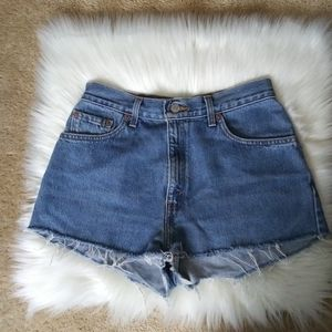 Vintage 550 Levi's Shorts High Waisted